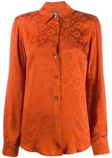 Alexa Chung tonal floral print shirt