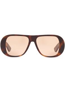 Alexa Chung x Sunglass Hut curved frames sunglasses