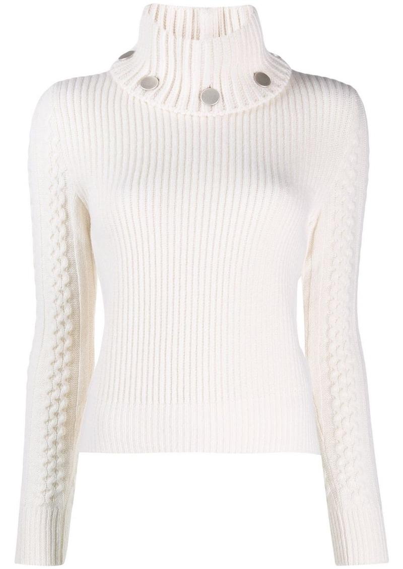 Alexander McQueen turtle neck knitted jumper