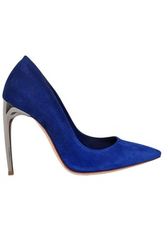 Alexander McQueen 105mm Mirror Heel Gradient Suede Pumps