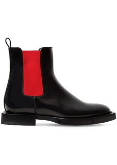 Alexander McQueen 10mm Leather Chelsea Boots