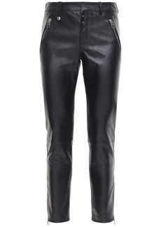 Alexander McQueen 15.5cm Leather Pants