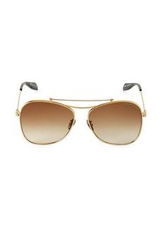 Alexander McQueen 20MM Aviator Sunglasses