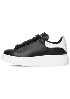 Alexander McQueen 40mm Bicolor Leather Sneakers