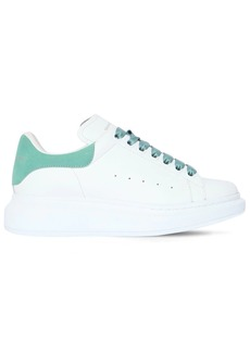 Alexander McQueen 40mm Leather & Suede Sneakers