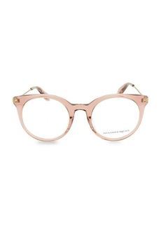 Alexander McQueen 49MM Pantos Core Optical Glasses