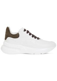 Alexander McQueen 50mm Leather Platform Runner Sneakers