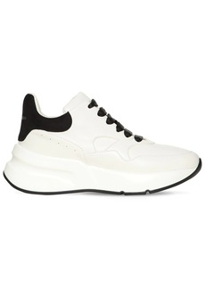 Alexander McQueen 50mm Running Leather & Suede Sneakers