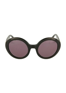 Alexander McQueen 51MM Oval Cat Eye Sunglasses