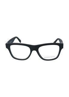 Alexander McQueen 52MM Rectangular Core Optical Glasses