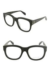 Alexander McQueen 53mm Acetate Optical Frames