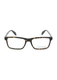 Alexander McQueen 55MM Rectangular Core Optical Glasses