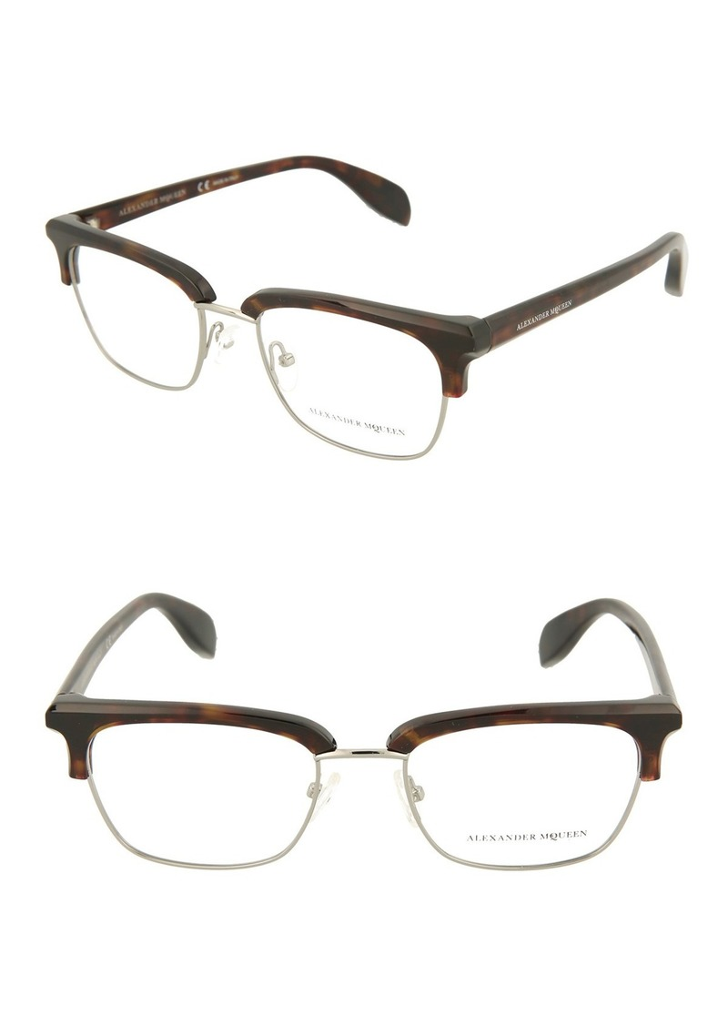 56mm Acetate Metal Optical Frames