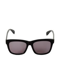 Alexander McQueen 56MM Core Square Sunglasses