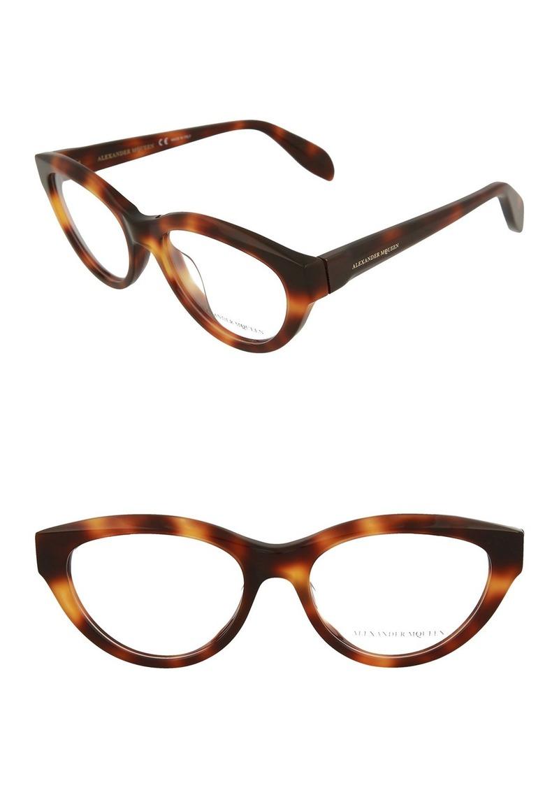 Alexander McQueen 58mm Acetate Optical Frames