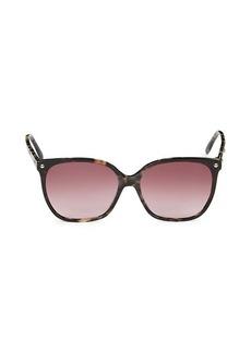 Alexander McQueen 59MM Square Sunglasses