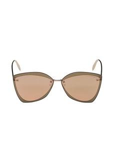 Alexander McQueen 64MM Butterfly Sunglasses