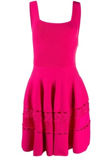 Alexander McQueen a-line short dress