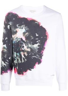 Alexander McQueen abstract print sweatshirt