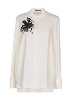 ALEXANDER MCQUEEN - Silk shirts & blouses