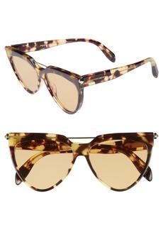 Alexander McQueen 58mm Cat Eye Sunglasses