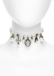 Alexander McQueen Bauble Choker Necklace