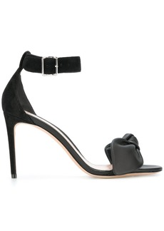 Alexander McQueen bow detail sandals - Black