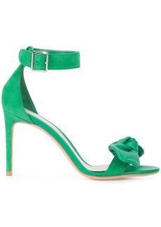 Alexander McQueen bow detail sandals - Green