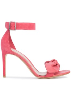 Alexander McQueen bow detail sandals - Pink & Purple