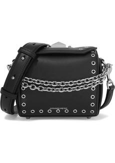 Alexander McQueen Box Bag 19 Embellished Leather Shoulder Bag