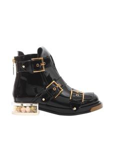 Alexander McQueen Buckle Boots