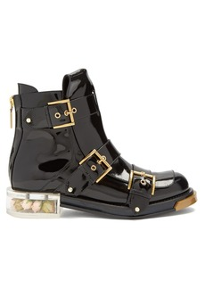 Alexander McQueen Buckle-fastening ankle boots