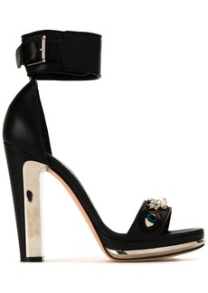 Alexander McQueen buckled sandals - Black