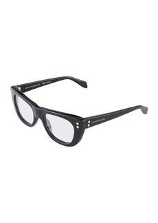 Alexander McQueen Cat-Eye Acetate Optical Glasses