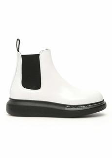 Alexander McQueen Chelsea Hybrid Boots