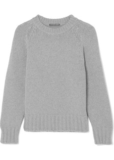 Alexander McQueen Chunky-knit cashmere and wool-blend sweater