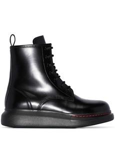 Alexander McQueen Combat Boot