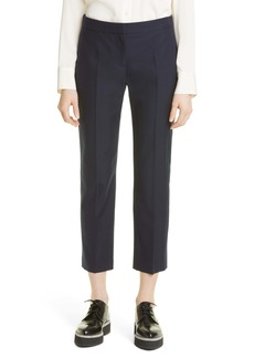 Alexander McQueen Cotton Cigarette Trousers