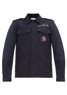 Alexander McQueen Cotton-gabardine field jacket