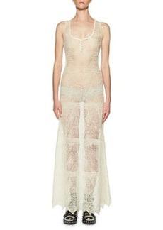 Alexander McQueen Crocheted Lace Maxi Dress