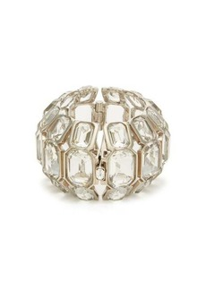 Alexander McQueen Crystal-embellished cuff