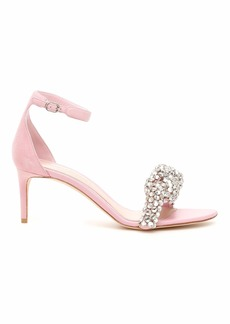 Alexander McQueen Crystal Knot Sandals