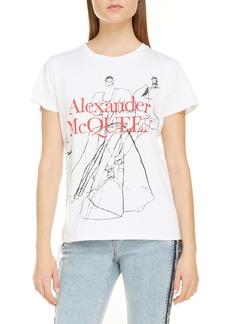 Alexander McQueen Dancing Girls Graphic Tee