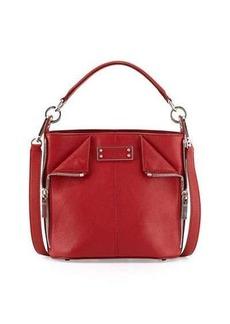 Alexander McQueen De-Manta Small Zip Bucket Bag