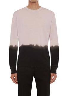 Alexander McQueen Dip Dye Silk Sweater