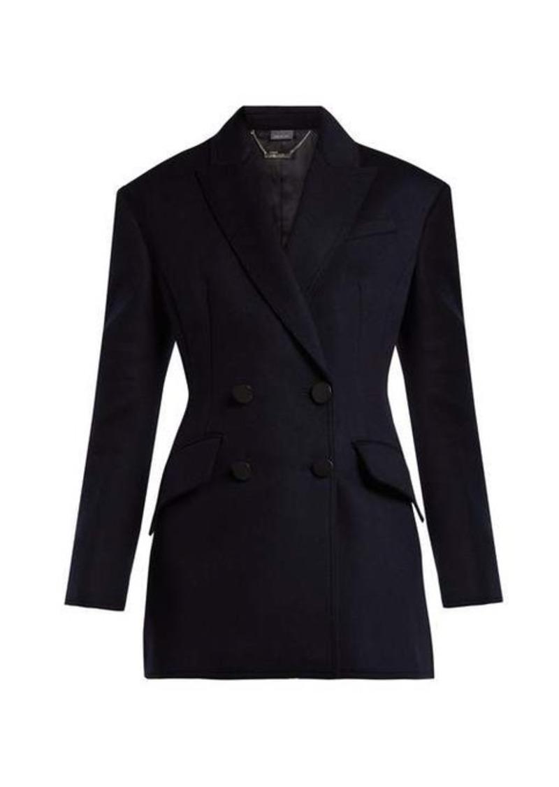 Alexander McQueen Double-breasted virgin-wool jacket