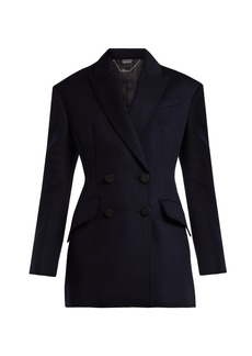Alexander McQueen Double-breasted virgin-wool jacket