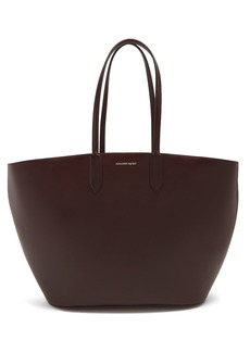 Alexander McQueen East West leather tote