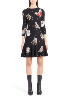 Alexander McQueen Gothic Fairytale Jacquard Knit Dress