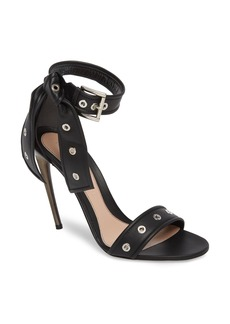 Alexander McQueen Grommet Ankle Strap Sandal (Women)